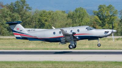 A picture of HBFVZ - Pilatus PC12/45 - [343] - © Stefan Gschwind