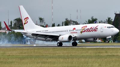 PK-LZT - Boeing 737-8GP - Batik Air