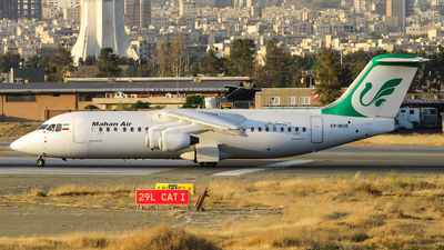 EP-MOE - British Aerospace BAe 146-300 - Mahan Air