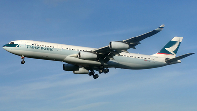 B-HXI - Airbus A340-313X - Cathay Pacific Airways