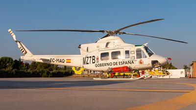 A picture of ECMAQ - Bell 412 - Babcock MCS Espana - © Juan Manuel Gibaja