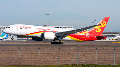 A picture of B2731 - Boeing 7878 Dreamliner - Hainan Airlines - © Raphael Oletu
