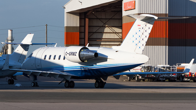 C-GRMZ - Bombardier CL-600-2B16 Challenger 605 - Private
