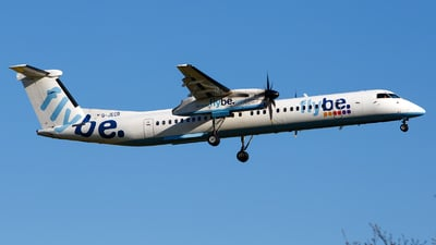 G-JECR - Bombardier Dash 8-Q402 - Flybe