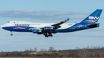 A picture of 4KSW800 - Boeing 7474R7(F) - Silk Way West Airlines - © Gerhard Zant