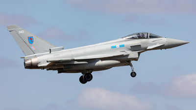 ZK342 - Eurofighter Typhoon FGR.4 - United Kingdom - Royal Air Force (RAF)