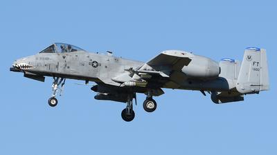 78-0600 - Fairchild A-10C Thunderbolt II - United States - US Air Force (USAF)