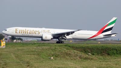 A picture of A6EPQ - Boeing 77731H(ER) - Emirates - © Luqman Alif