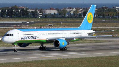 UK75702 - Boeing 757-23P - Uzbekistan Airways