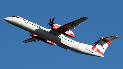 A picture of OELGN - De Havilland Canada Dash 8400 - Austrian Airlines - © Andreas Müller