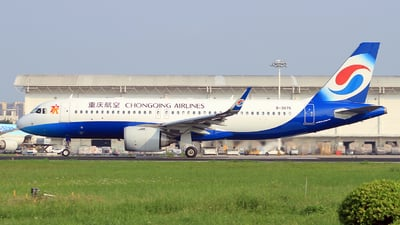 A picture of B307S - Airbus A320251N - Chongqing Airlines - © Egg_Shadowsine Aviation