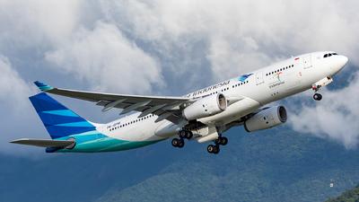 PK-GPM - Airbus A330-243 - Garuda Indonesia