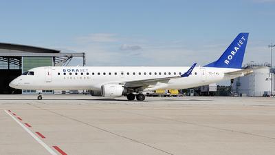 TC-YAL - Embraer 190-100LR - Bora Jet