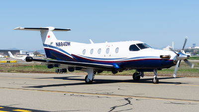 N894DM - Pilatus PC-12/45 - Private