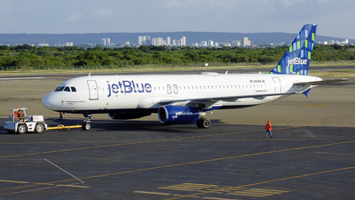 N588JB - Airbus A320-232 - jetBlue Airways