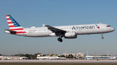 N535UW - Airbus A321-231 - American Airlines
