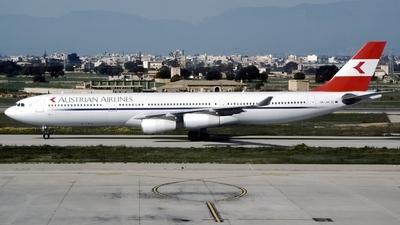OE-LAK - Airbus A340-313X - Austrian Airlines