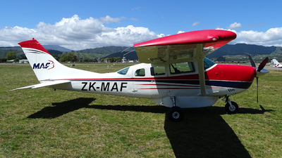 A picture of ZKMAF - Cessna U206G - [U20605671] - © Tim Gorman