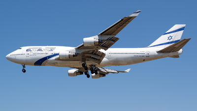 A picture of 4XELB - Boeing 747458 - [26056] - © Ramon Jordi