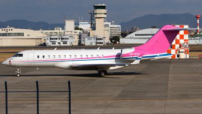 VP-CYA - Bombardier BD-700-1A10 Global 6000 - Private