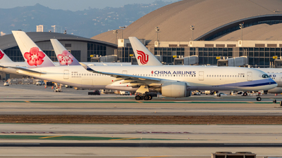 B-18912 - Airbus A350-941 - China Airlines
