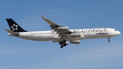 A picture of DAIFF - Airbus A340313 - Lufthansa - © Shon Fridman