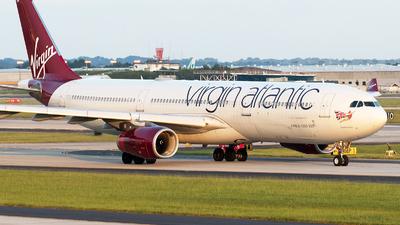 G-VGEM - Airbus A330-343 - Virgin Atlantic - Flightradar24