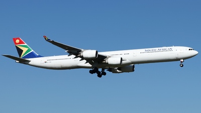 ZS-SNB - Airbus A340-642 - South African Airways
