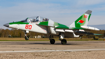 80 - Yakovlev Yak-130 - Belarus - Air Force