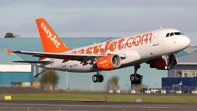 A picture of GEZIZ - Airbus A319111 - easyJet - © Ian Howat