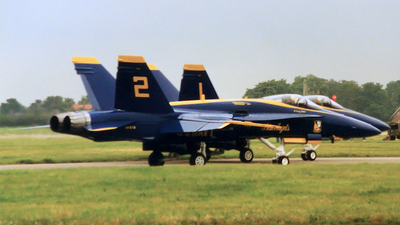161978 - McDonnell Douglas F-18A Hornet - United States - US Navy (USN)