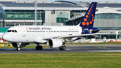 A picture of OOSSD - Airbus A319112 - Brussels Airlines - © Aviation_HK_2507