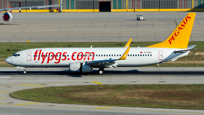 A picture of TCCPU - Boeing 73786N - Pegasus Airlines - © Alp AKBOSTANCI