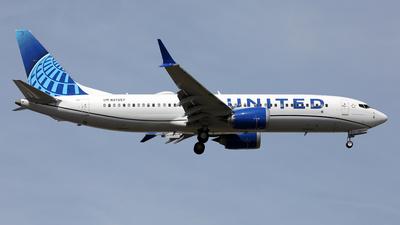 N37257 - Boeing 737-8 MAX - United Airlines