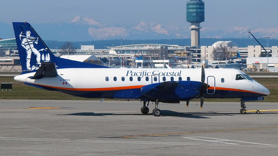 C-FPCU - Saab 340B - Pacific Coastal Airlines