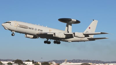 LX-N90445 - Boeing E-3A Sentry - NATO - Airborne Early Warning Force