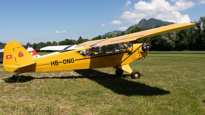 A picture of HBONG - Piper J3C65 Cub - [13032] - © Alexandre Fazan