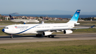 EP-AJA - Airbus A340-313X - Iran - Government