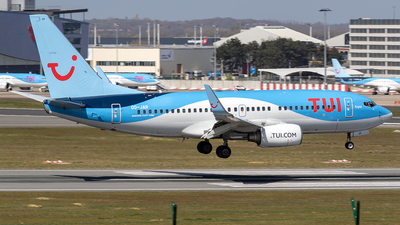 A picture of OOJAR - Boeing 7377K5 - TUI fly - © Sotos