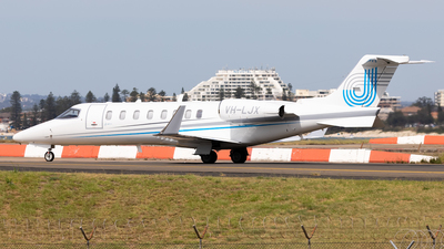 VH-LJX - Bombardier Learjet 45 - Private