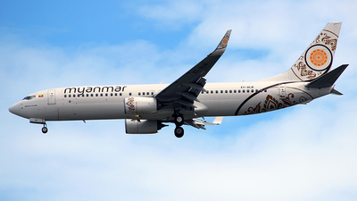 XY-ALB - Boeing 737-86N - Myanmar National Airlines