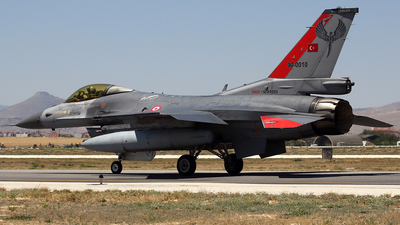 90-0010 - General Dynamics F-16C Fighting Falcon - Turkey - Air Force