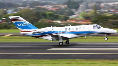 A picture of N721DJ - Cessna 525B CitationJet CJ3 - [525B0513] - © Jorge andres solano sancho
