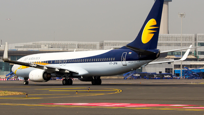 VT-JFM - Boeing 737-8AL - Jet Airways