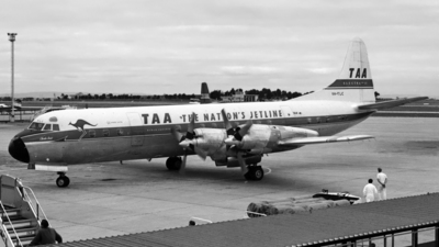 VH-TLC - Lockheed L-188A Electra - Trans Australia Airlines (TAA)