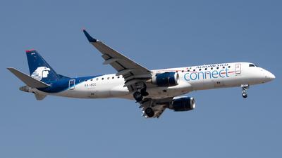 A picture of XAACC - Embraer E190LR - Aeromexico Connect - © Juan Carlos Alvarez (MAS Aviation Press)