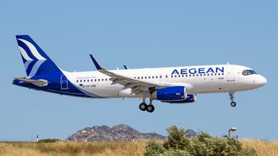 A picture of SXDNE - Airbus A320232 - Aegean Airlines - © Kostas Marmarelis