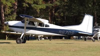 N67DS - Cessna A185E Skywagon - Private