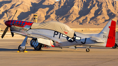 N51ZM - North American TF-51D Mustang - Private