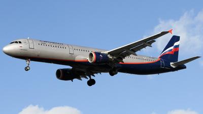 VP-BOE - Airbus A321-211 - Aeroflot